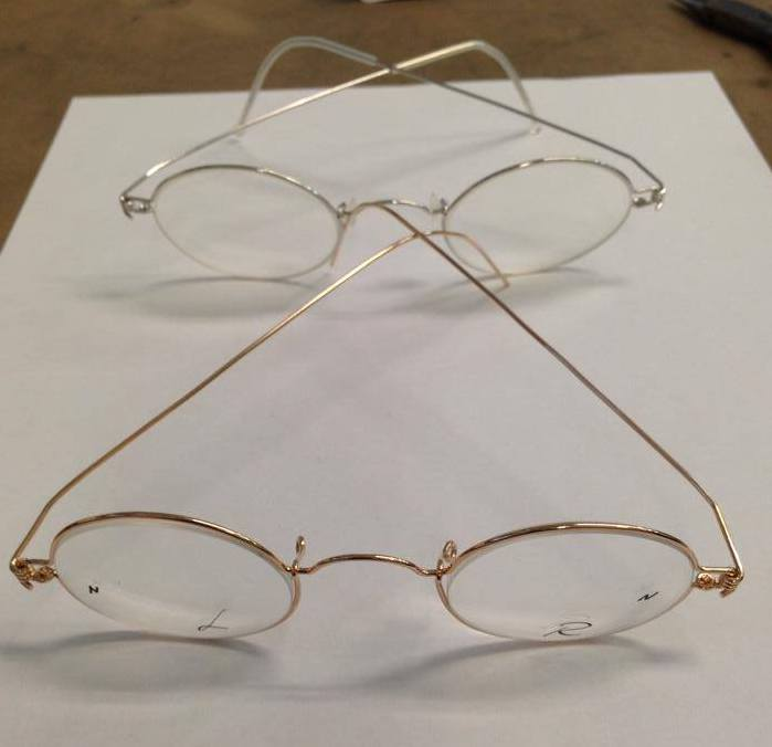 Je eigen bril maken van goud? Waarom niet!