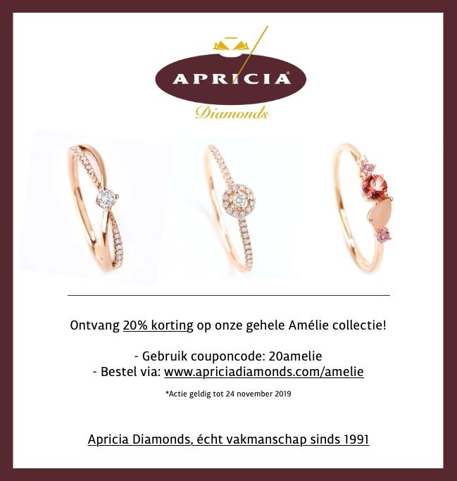 20% korting op onze Amélie collectie!